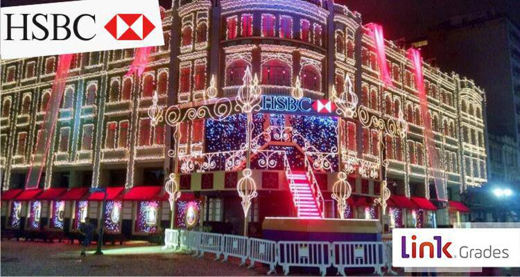 Christmas of Avenida Palace HSBC - Curitiba Brazil