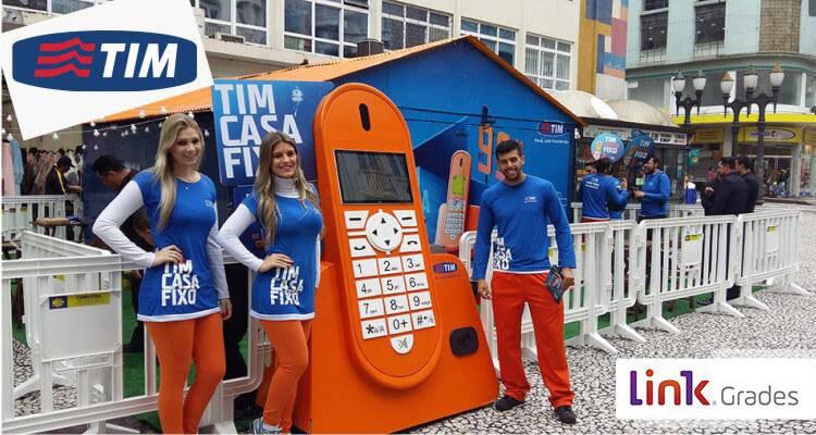 Action Tim Casa Fixo Curitiba Brazil