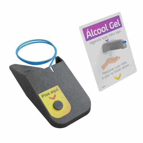 KIT Dispensador de Alcohol en Gel